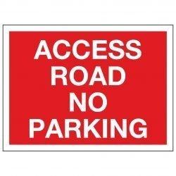 ACCESS ROAD NO PARKING