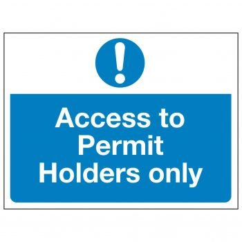 Access to Permit Holders only