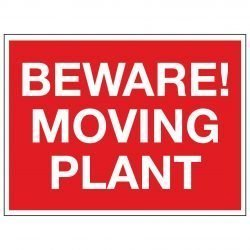 BEWARE! MOVING PLANT