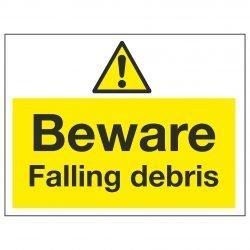 Beware Falling debris
