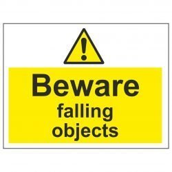 Beware falling objects