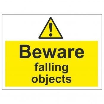 Beware falling objects