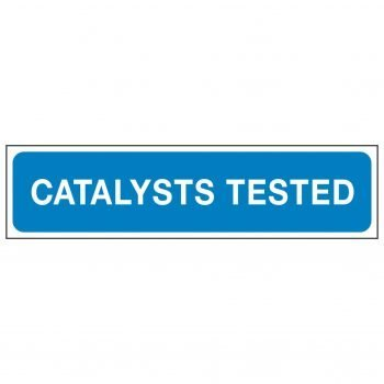 CATALYSTS TESTED