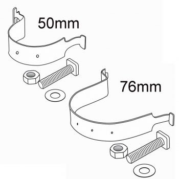 CHANNEL CLIP + Channel bolt, nut and washer