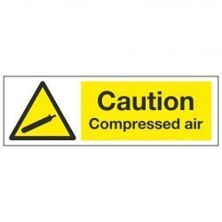 Caution Compressed air