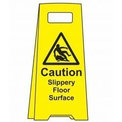 ! Caution Slippery Floor Surface