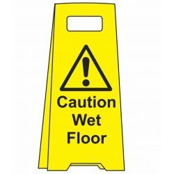 ! Caution Wet Floor