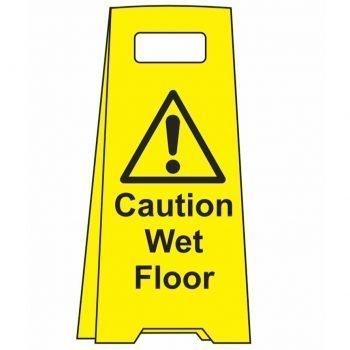 ! Caution Wet Floor