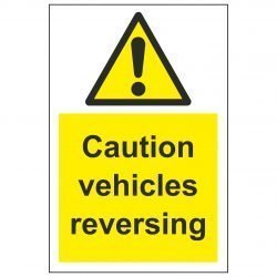 Caution vehicles reversing