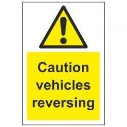Caution vehicles reversing