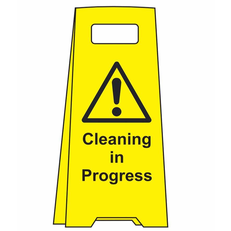 ! Cleaning in Progress