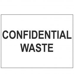 CONFIDENTIAL WASTE