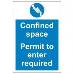 Confined space Permit to enter required