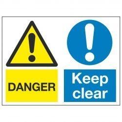 DANGER / Keep clear