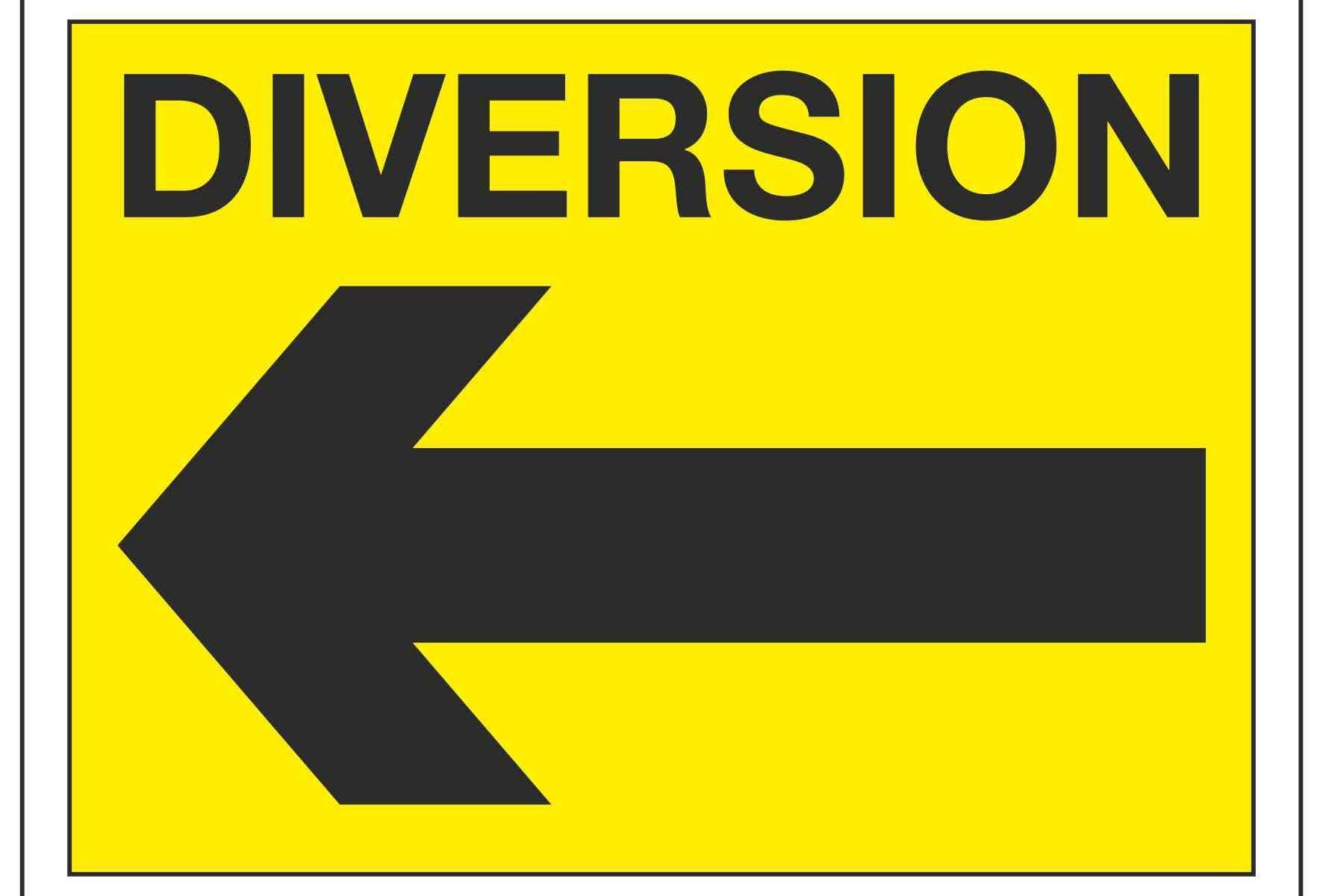 DIVERSION (Arrow Left)