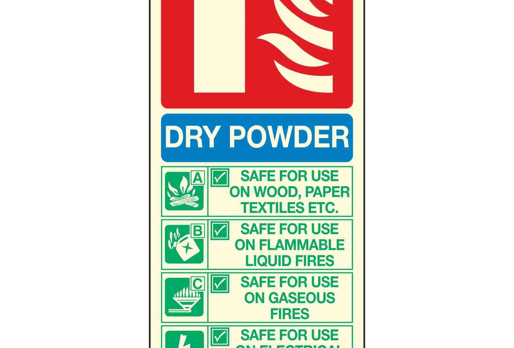 DRY POWDER FIRE EXTINGUISHER PL