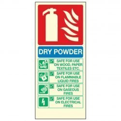 DRY POWDER FIRE EXTINGUISHER PL