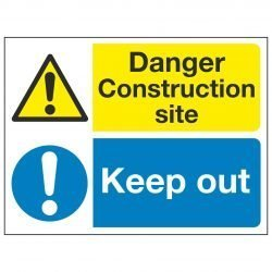 Danger Construction site / Keep out