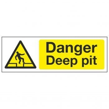 Danger Deep pit