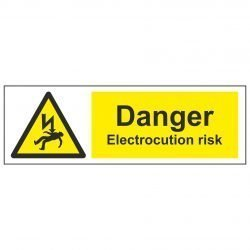 Danger Electrocution risk
