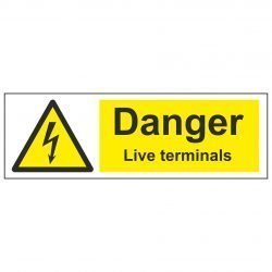 Danger Live terminals