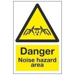 Danger Noise hazard area