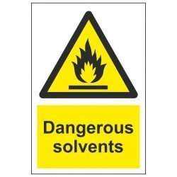 Dangerous solvents
