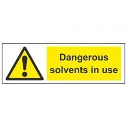Dangerous solvents in use