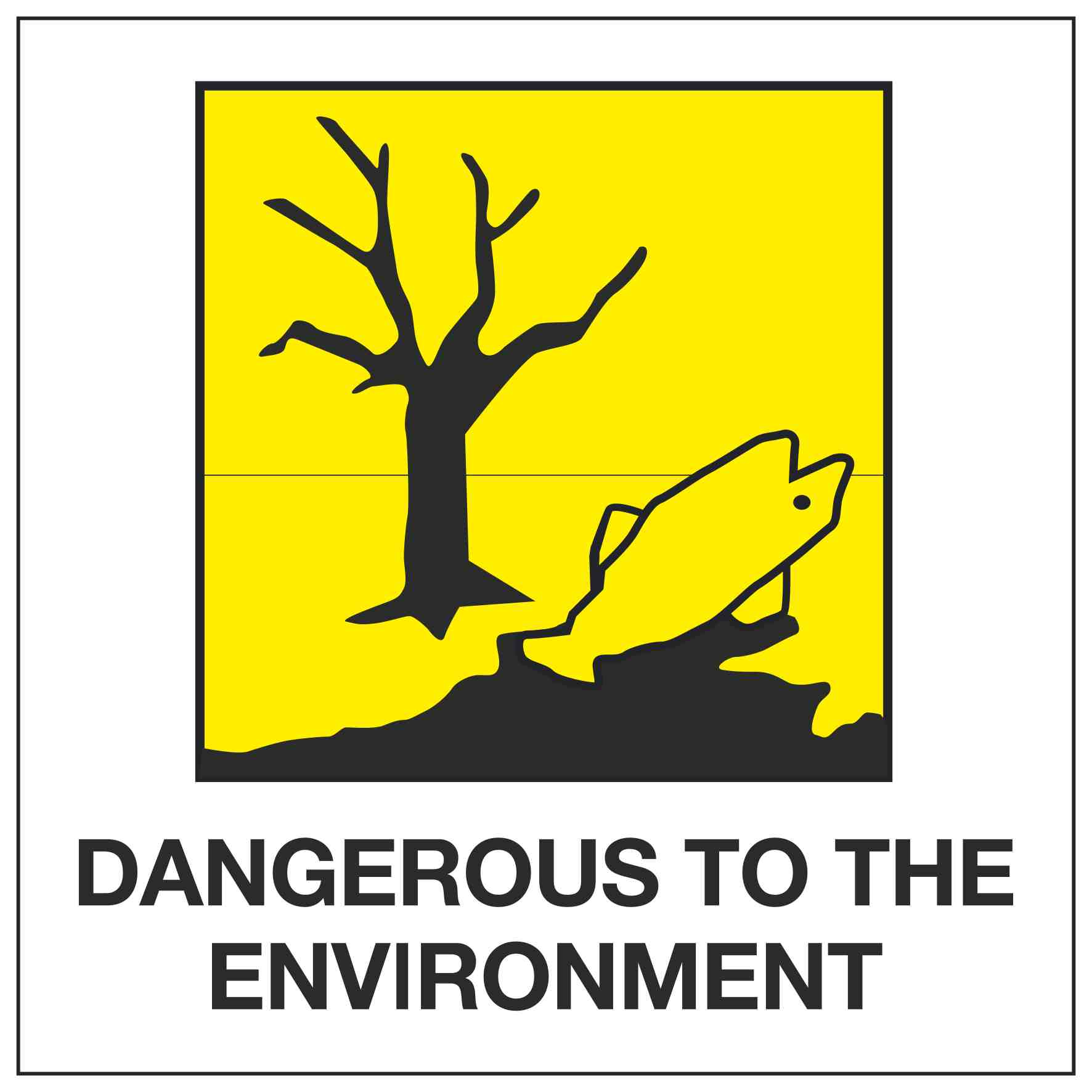 DANGEROUS TO THE ENVIRONMENT – Linden Signs & Print