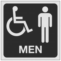 Disabled Men Toilet