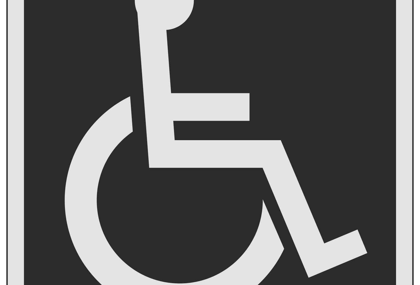 Disabled Symbol Toilet