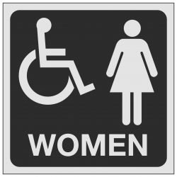Disabled Women Toilet