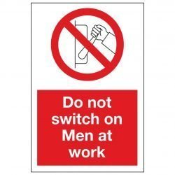 Do not switch on Men at work