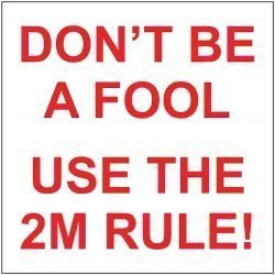 DON'T BE A FOOL USE THE 2M RULE!