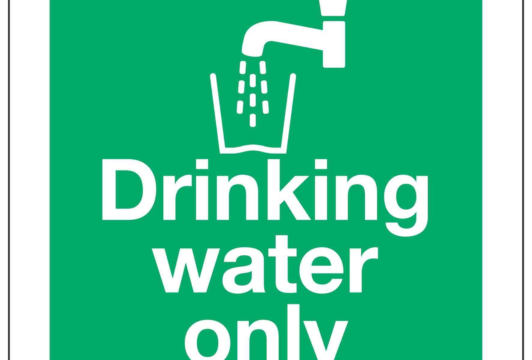 Drinking water only