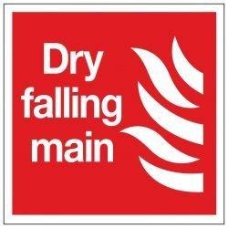 Dry falling main