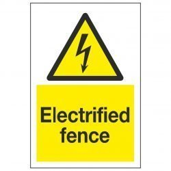 Electrified fence