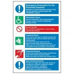 Emergency Evacuation for the Physically Impaired