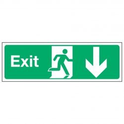 Exit / Arrow Down
