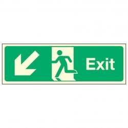 Exit / Arrow Down Left PL