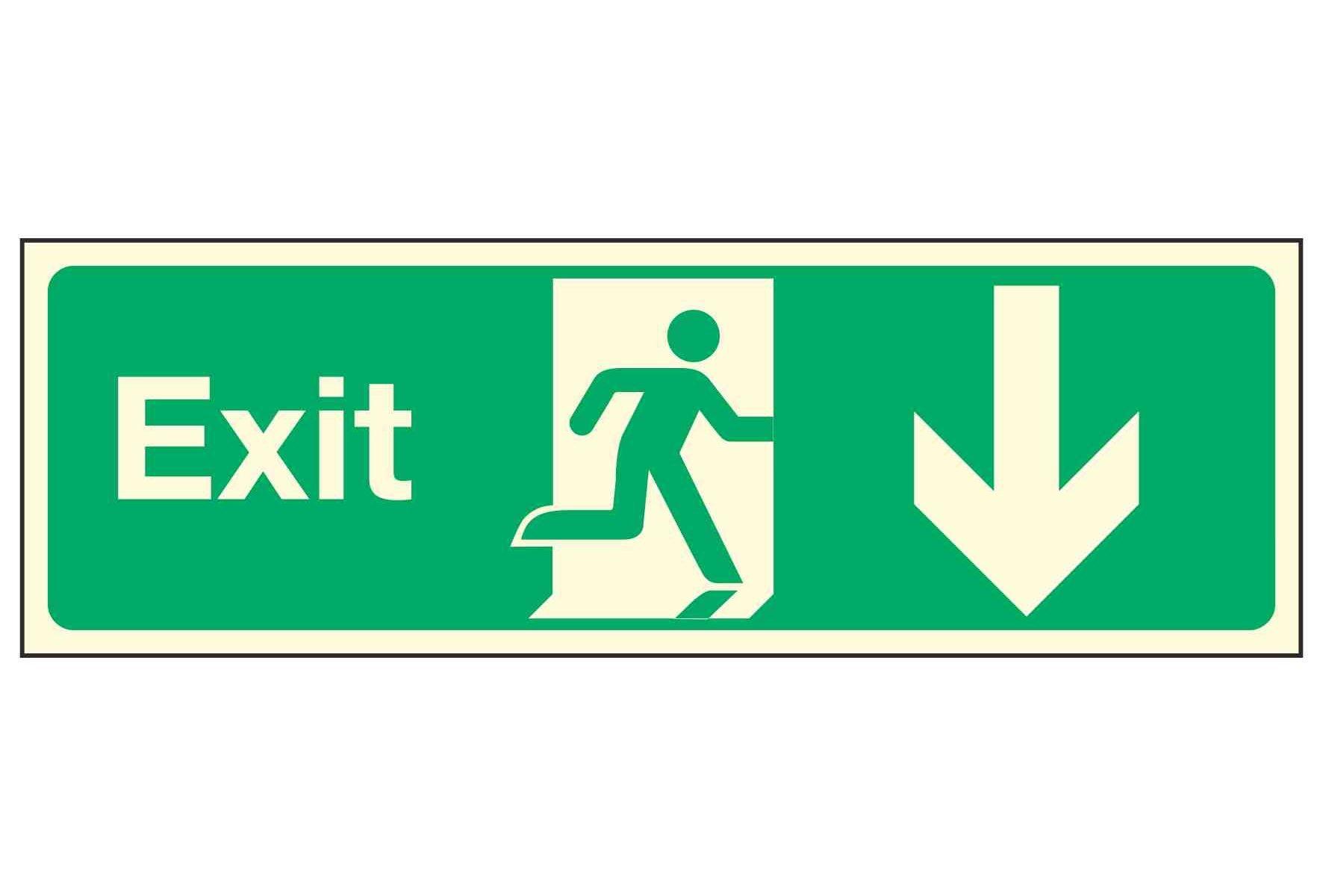 Exit / Arrow Down PL
