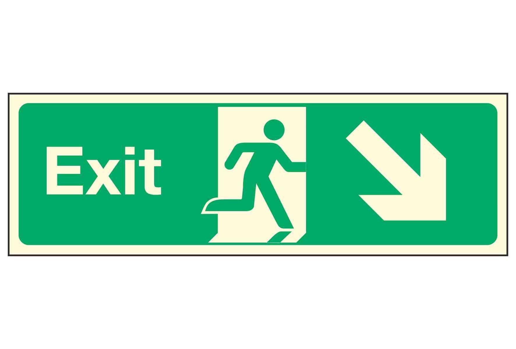Exit / Arrow Down Right PL