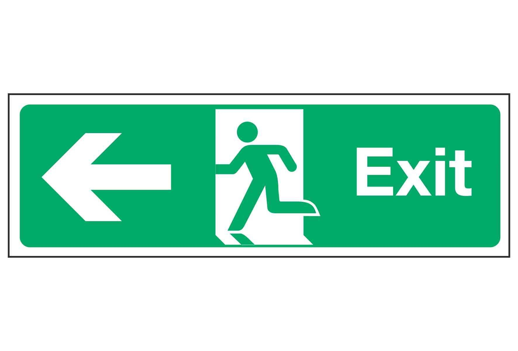 Exit / Arrow Left
