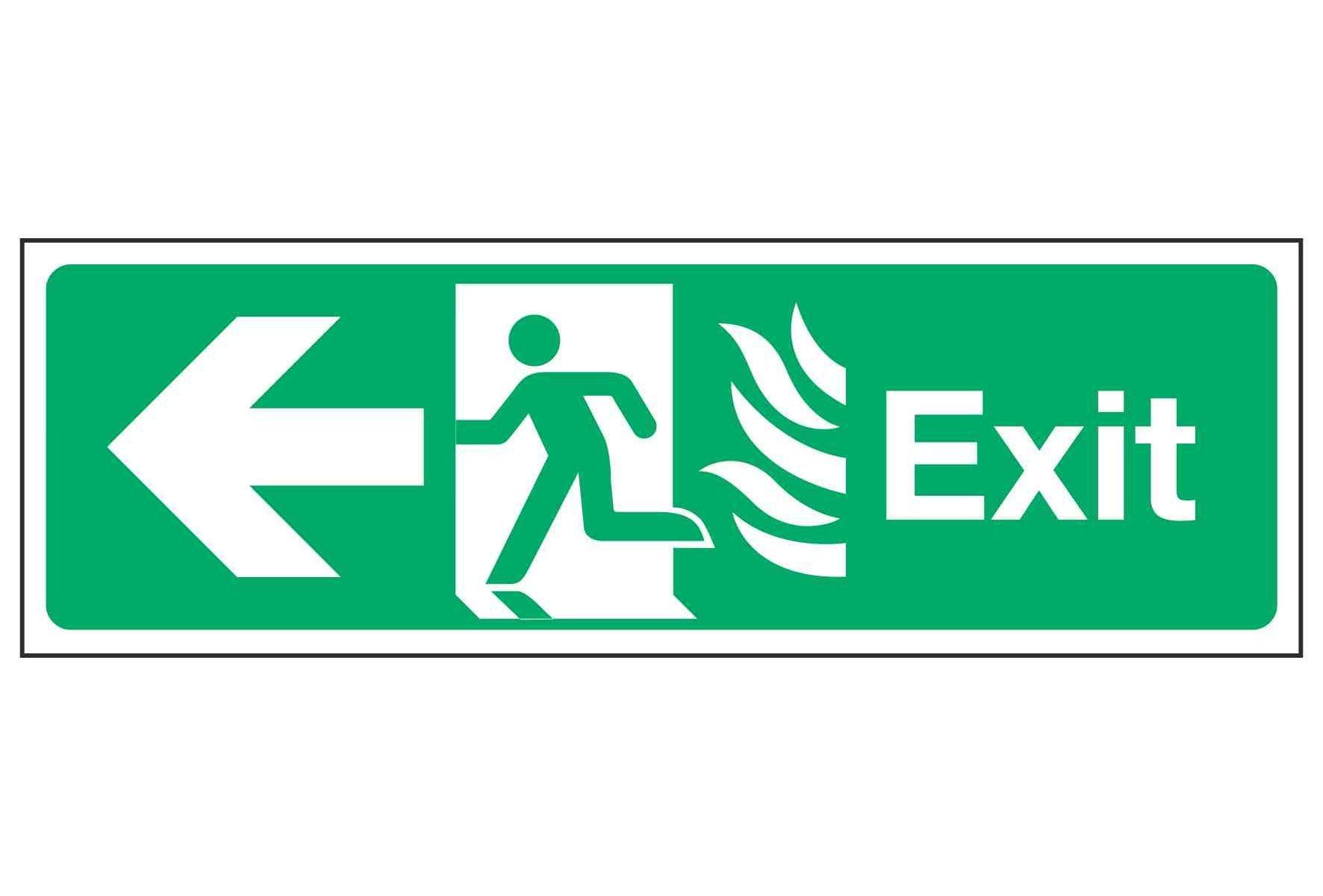 Exit / Arrow Left - NHS