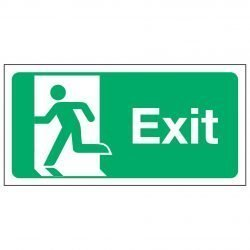 Exit / Running Man Left