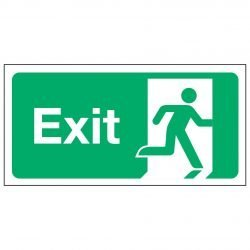 Exit / Running Man Right