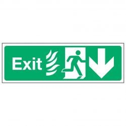 Exit / Running Man Right / Arrow Down - NHS