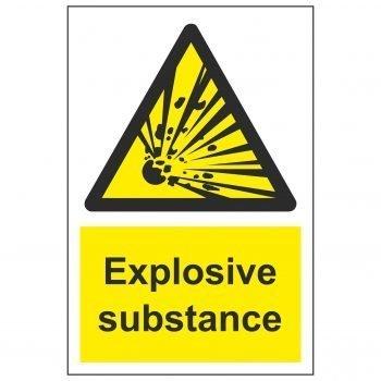 Explosive substance