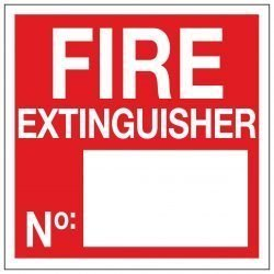 FIRE EXTINGUISHER No.