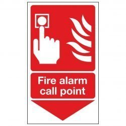 Fire alarm call point / Arrow Down